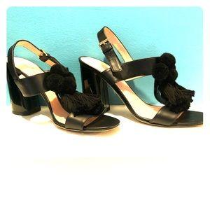 Kate Spade Tassel Chunky Heels